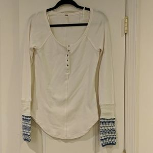 Creme Henley Thermal